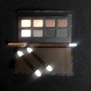 Sephora eyeshadow palette & Cargo brown eyeliner